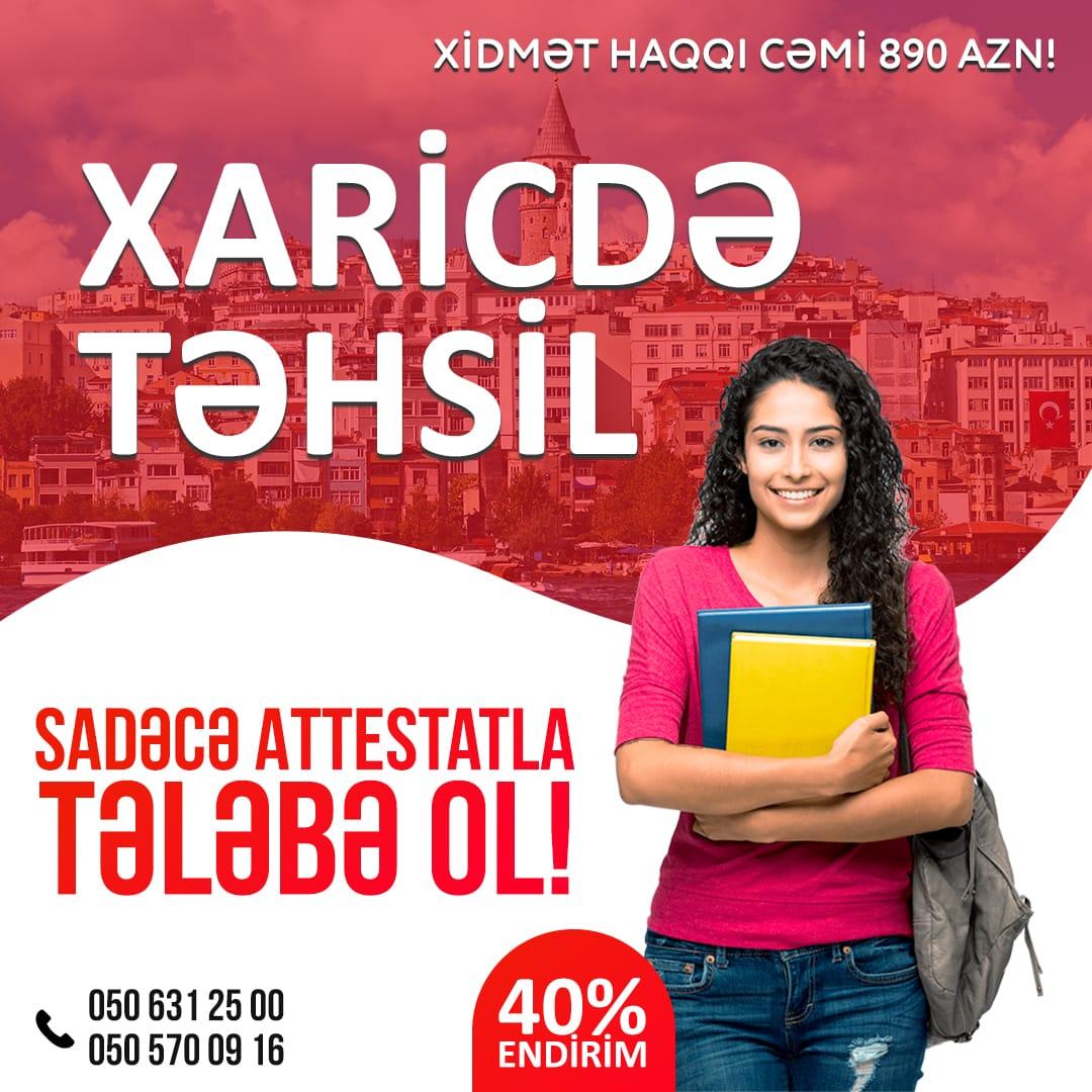 Xaricdə Təhsil - Türkiyə 2019 1